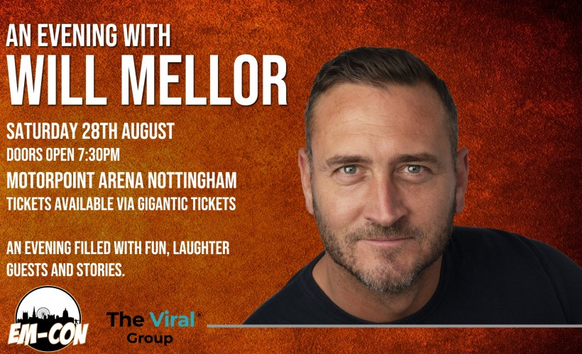 Will Mellor tickets