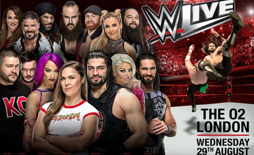 WWE Live In London tickets