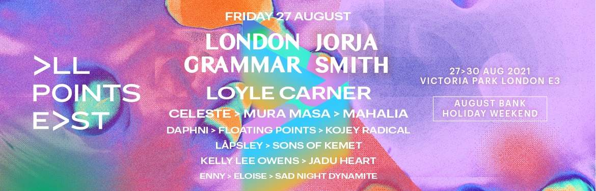 All Points East Festival: London Grammar and Jorja Smith tickets