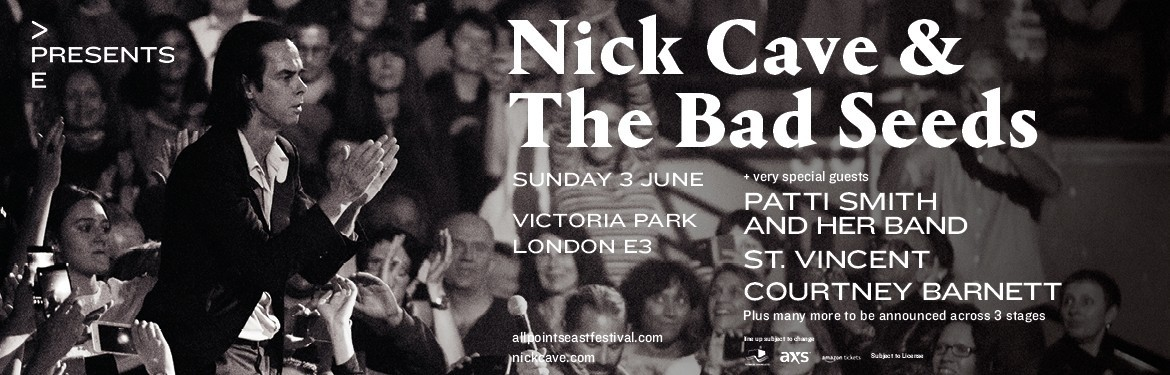 APE Presents: Nick Cave & The Bad Seeds tickets