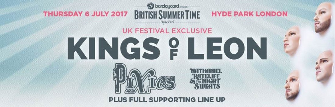 Barclaycard presents British Summer Time Hyde Park - Kings of Leon tickets