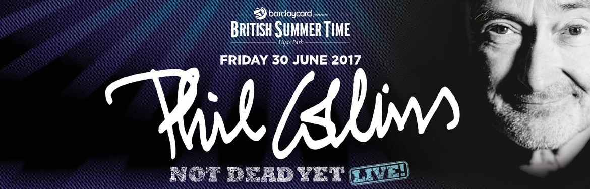 Barclaycard presents British Summer Time Hyde Park - Phil Collins tickets
