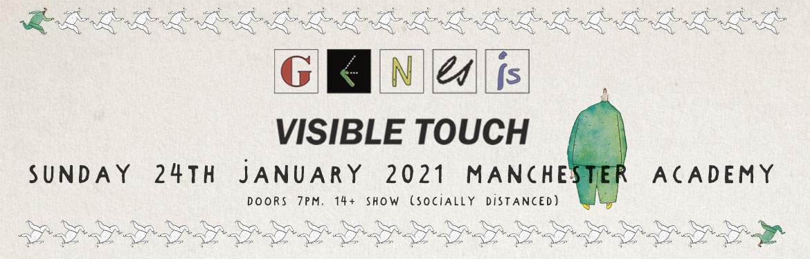 Genesis Visible Touch - The Duke Tour. One Night Only. tickets