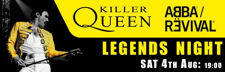 Killer Queen & ABBA Revival tickets
