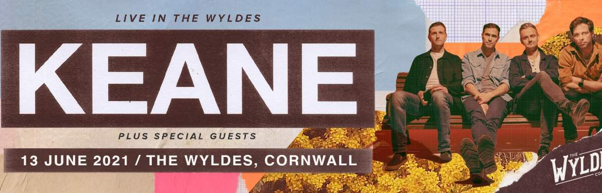 Live In The Wyldes - Keane tickets