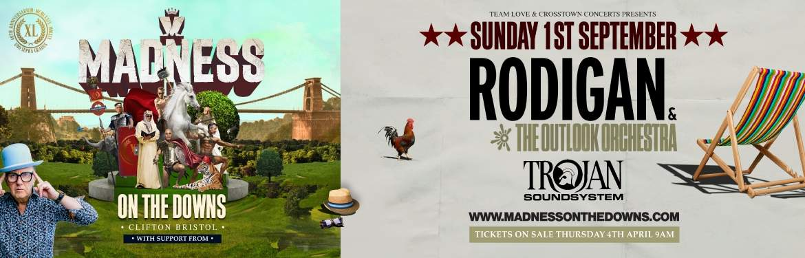Madness On The Downs tickets