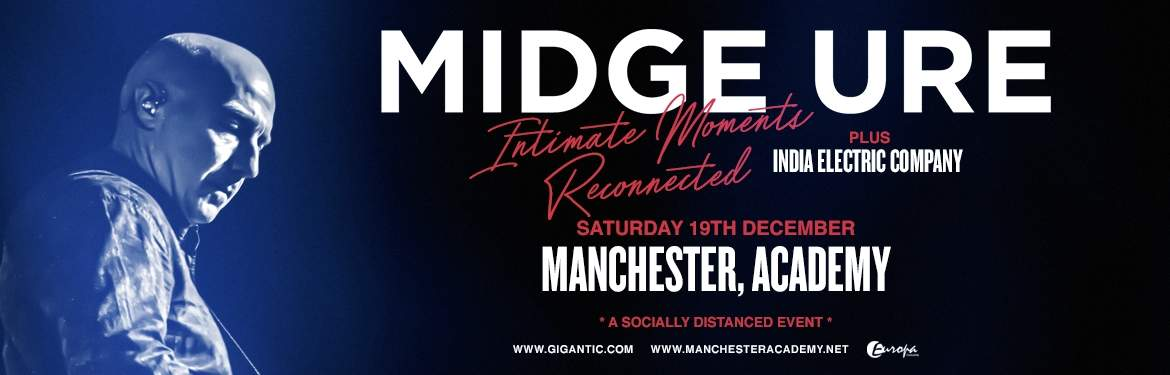 Midge Ure - Intimate Moments Reconnected tickets