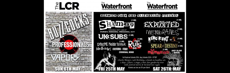 Norwich Punk & Alternative Festival 2018 tickets