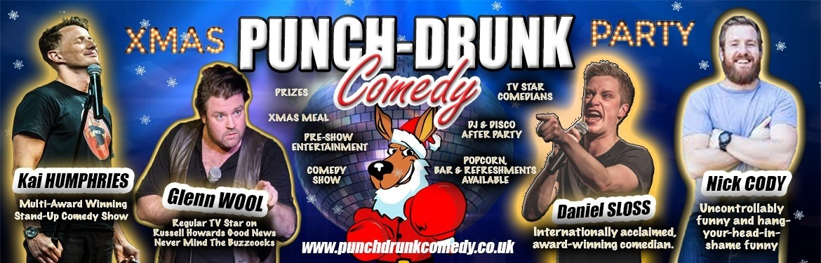 Punch-Drunk Comedy Christmas Party tickets