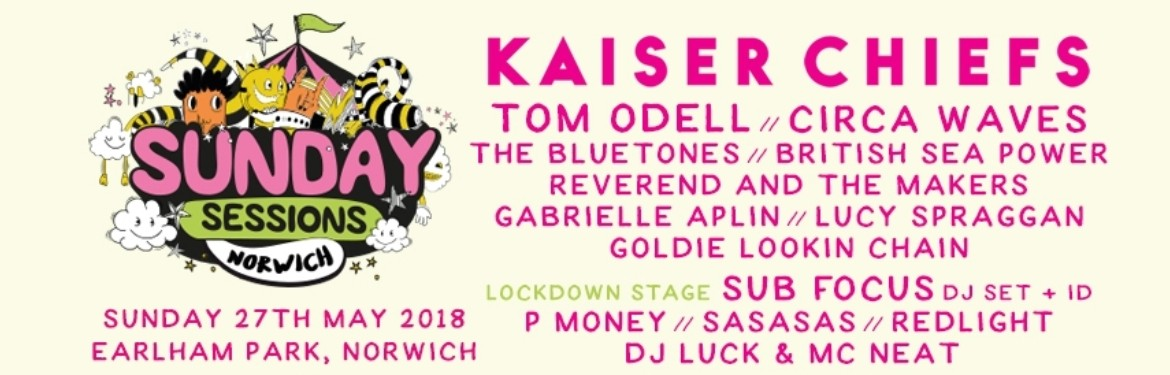 Sunday Sessions Norwich - Kaiser Chiefs tickets