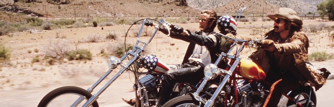 The Screen at Contemporary American Rebel: Outsiders and loners in nine classic films - Easy Rider (1969) dir. Dennis Hopper tic