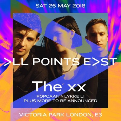 All Points East:  The xx tickets