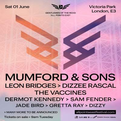All Points East Festival: Mumford & Sons tickets
