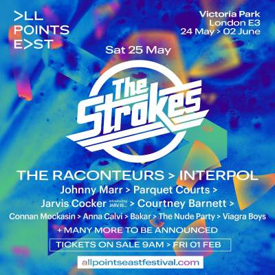 All Points East Festival: The Strokes tickets