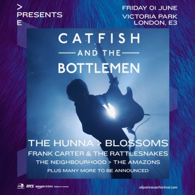 APE Presents: Catfish and the Bottlemen tickets