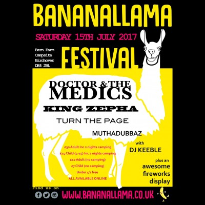 Bananallama tickets