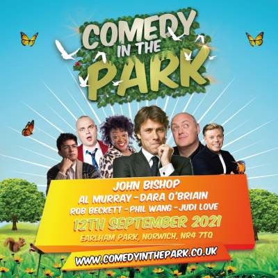 Comedy In The Park tickets