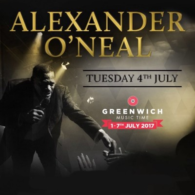 Greenwich Music Time: Alexander O'Neal tickets