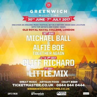Greenwich Music Time: Michael Ball & Alfie Boe tickets