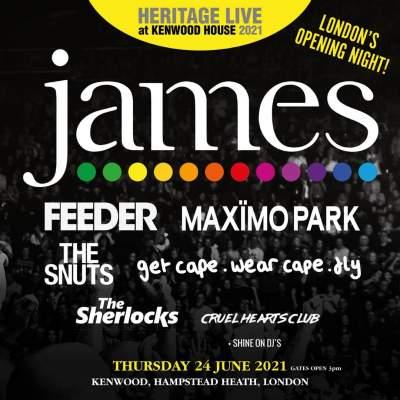 James tickets