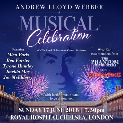 Live at Chelsea - Andrew Lloyd Webber  A Musical Celebration  tickets