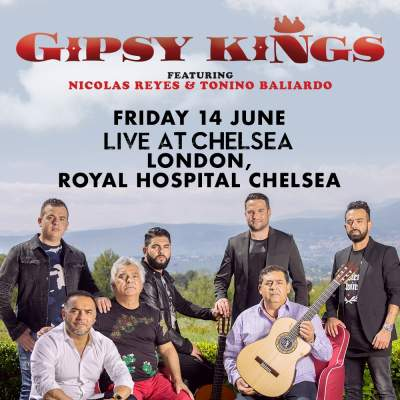 Live at Chelsea - Gipsy Kings featuring Nicolas Reyes and Tonino Baliardo      tickets
