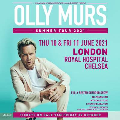 Live at Chelsea - Olly Murs tickets