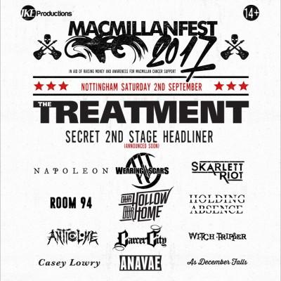 MACMILLAN FEST 2017 tickets