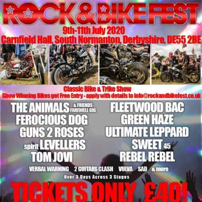 Rock and Bike Fest 2020 tickets