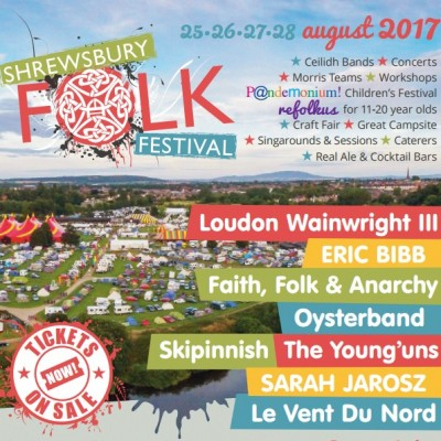 Shrewsbury Folk Festival 2017 tickets