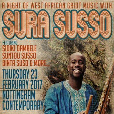 Sura Susso Live Performance & Drumming Workshop tickets
