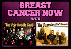 'Breast Cancer Now' with Pete Boddis Band + Freewheelin' Band