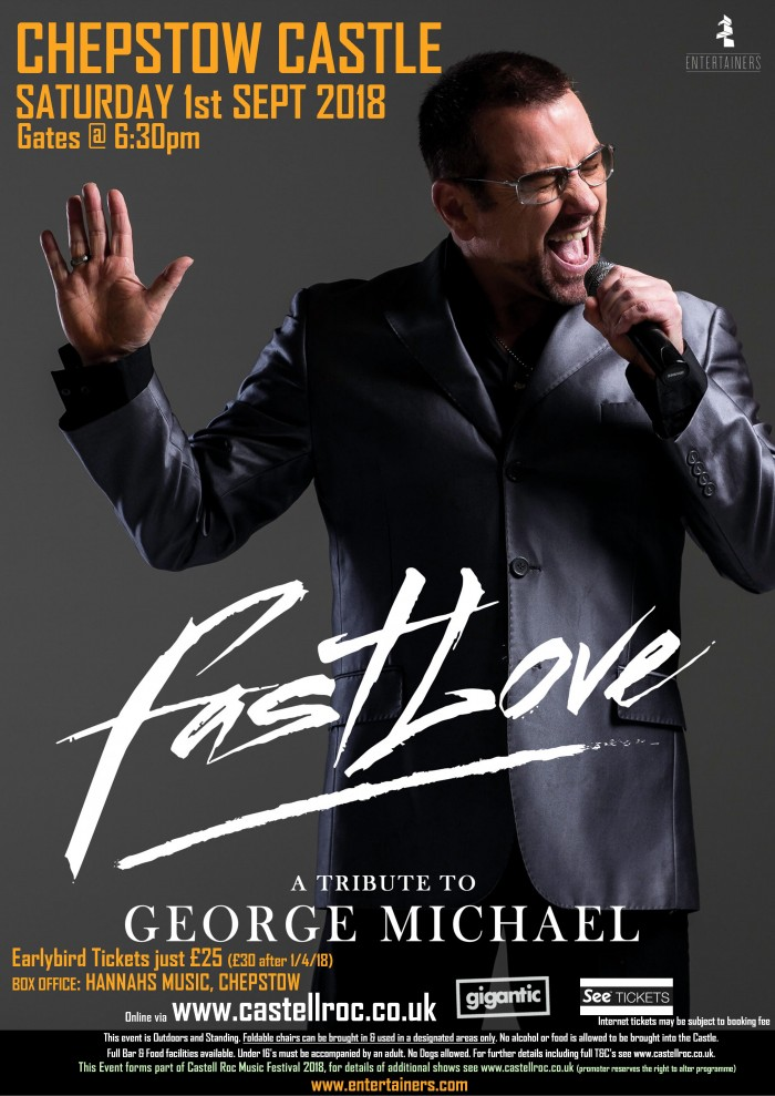 Fastlove - A Tribute to George Michael at Castell Roc