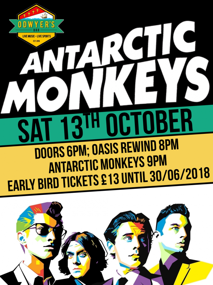 The Antarctic Monkeys Live @ O'Dwyers Bar