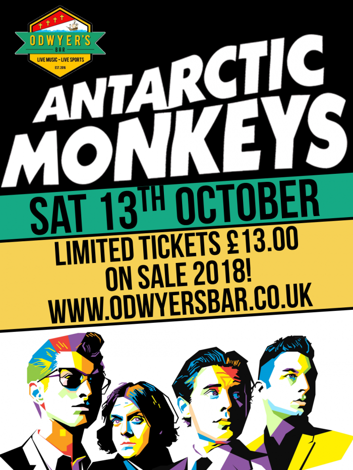 The Antarctic Monkeys Live @ O'Dwyers Bar