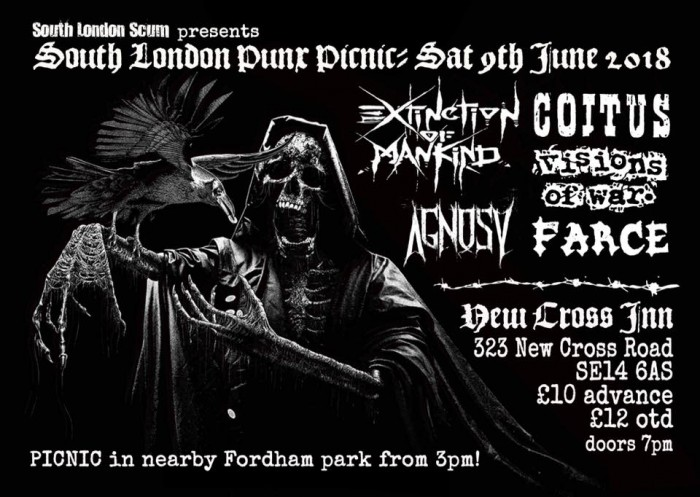 South London Punx Picnic 2018