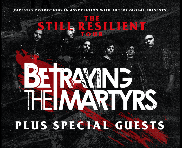 Betraying The Martyr's Plus Special guests - Manchester