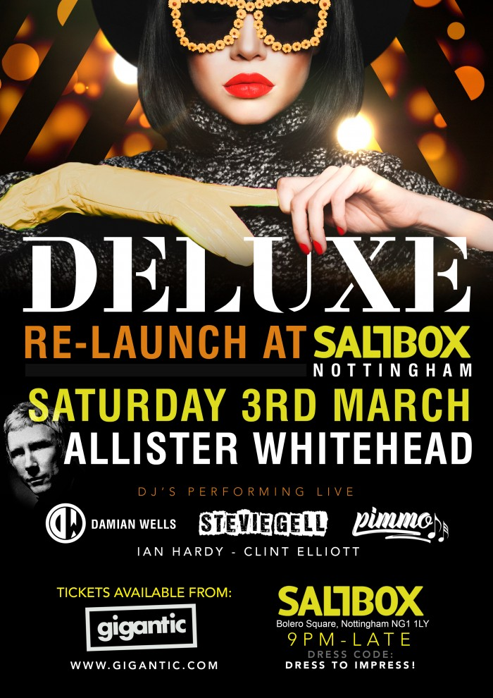 Deluxe Presents Allister Whitehead