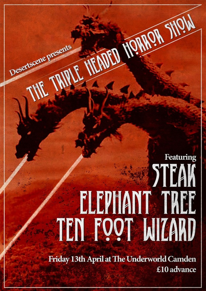 Steak + Elephant Tree + 10 Foot Wizard