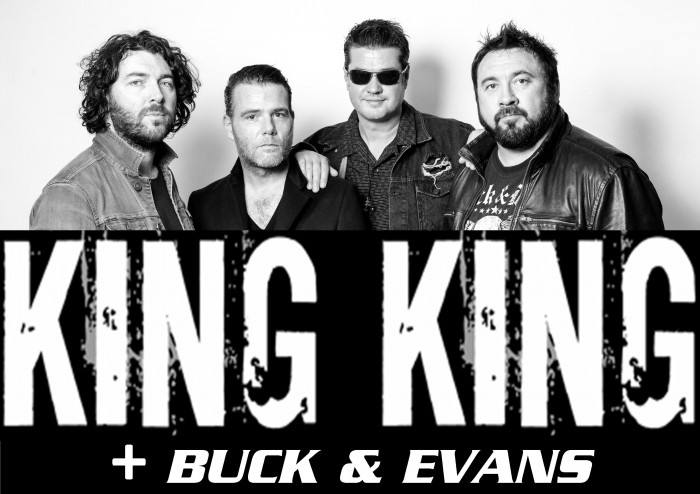 Blues & Grooves with 'King King + 'Buck & Evans'