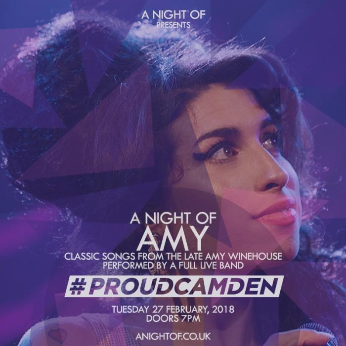 A Night of Amy (Proud Camden)