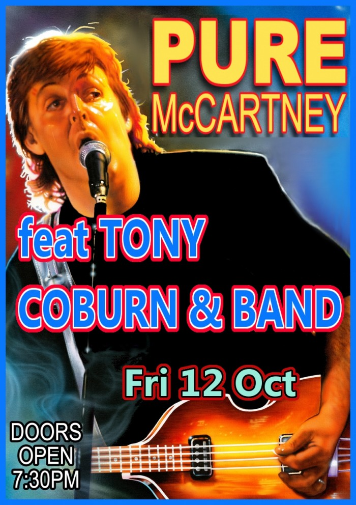 Pure McCartney feat Tony Coburn as Paul McCarntey