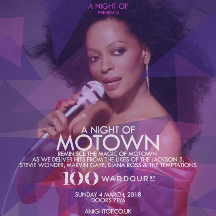 A Night of Motown