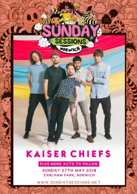 Sunday Sessions Norwich - Kaiser Chiefs