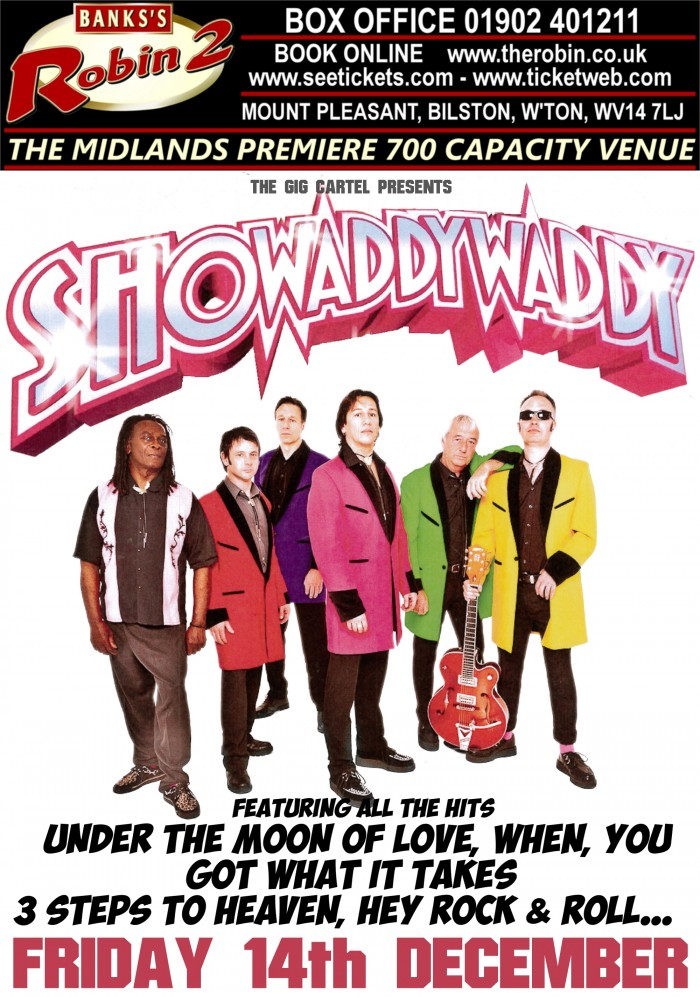 Showaddywaddy - Christmas Party