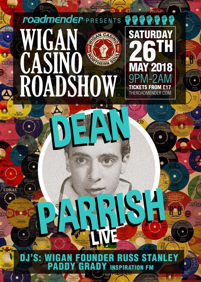 Wigan Casion Roadshow FT Dean Parish LIVE