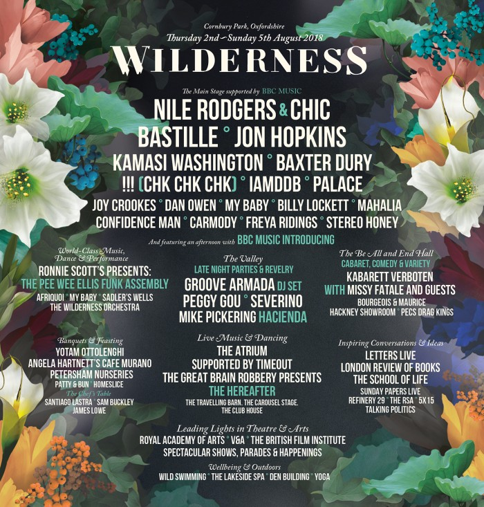 Wilderness Festival 2018