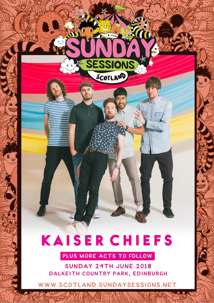 Sunday Sessions Scotland - Kaiser Chiefs