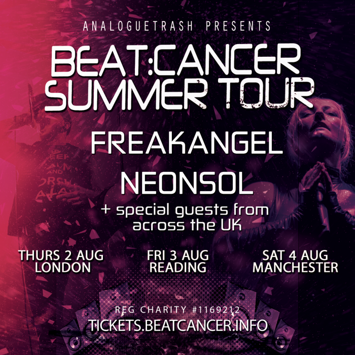 Freakangel /  Neonsol + Nature of Wires + 1 More TBA
