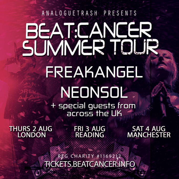 Freakangel /  Neonsol + Room 1985 + 1 More TBA